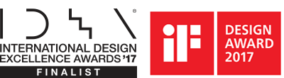 INTERNATIONAL DESIGN EXCELLENCE AWARDS'17 FINALIST, DESIGN AWARD 2017 DISCIPLINE PRODUCT
