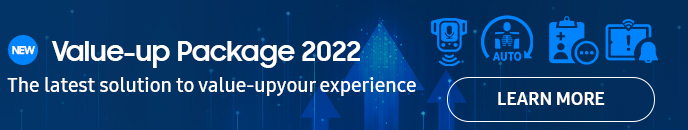 Value-up Package 2021, The lastet solution to value-up your experience, LEARN MORE