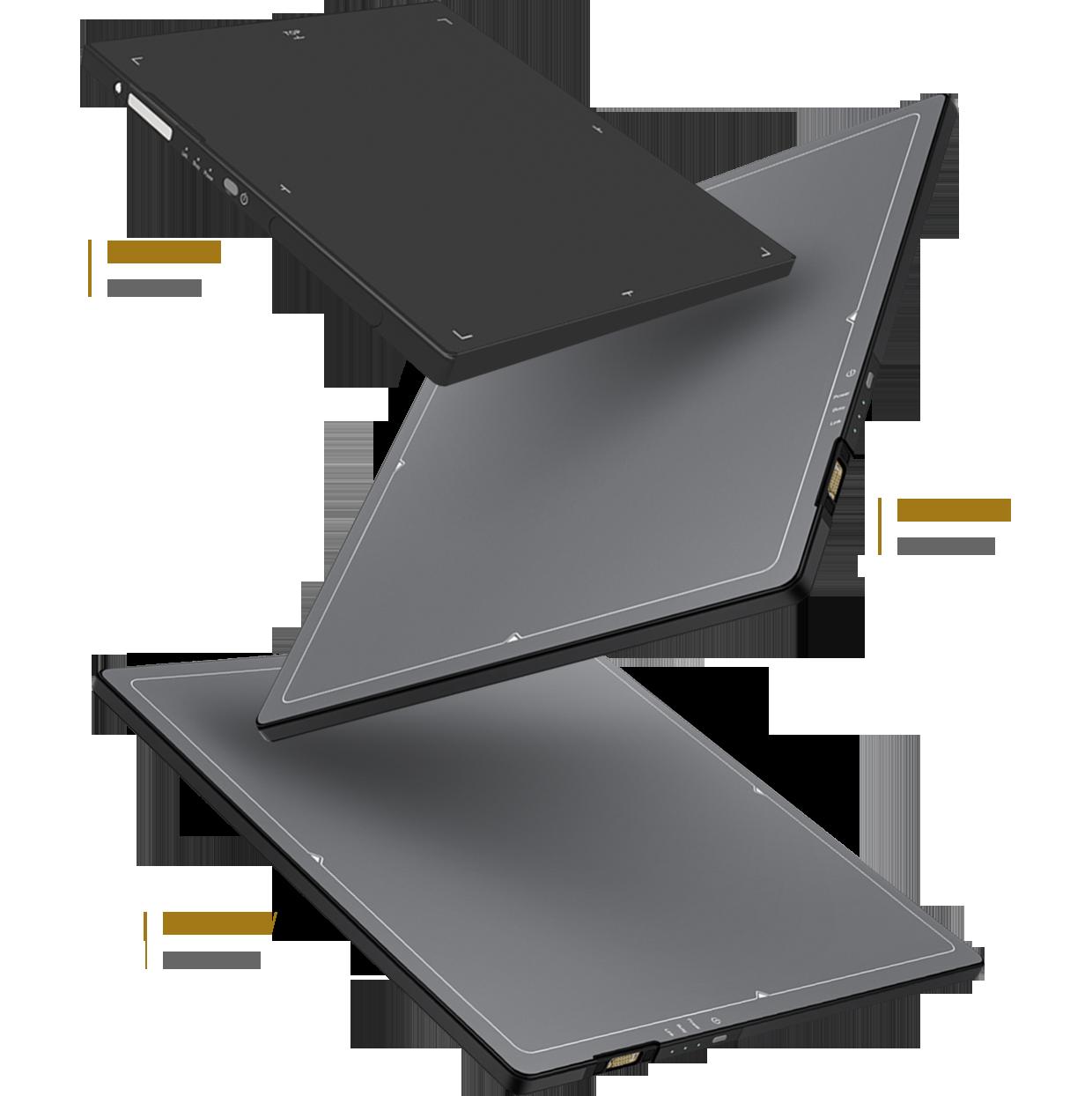 Drei Detektoren von Samsung